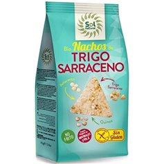 Nachos Sarraceno sin gluten Bio 80 gr. Sol Natural