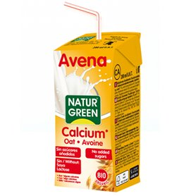 Bebida Avena Calcio Bio 200 ml.