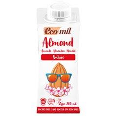 Bebida Almendra Nature bio 200 ml. Ecomil
