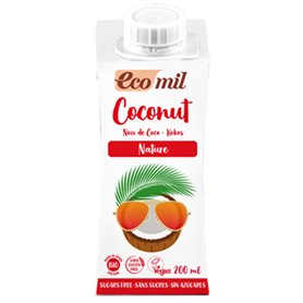 Bebida Coco Nature Bio 200 ml. Ecomil