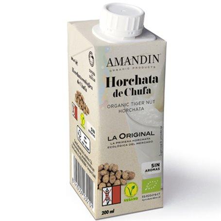Horchata de chufa Bio 200 ml. Amandin
