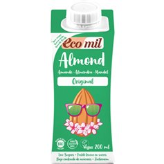 Bebida Almendra Original Bio 200 ml. Ecomil