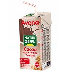 Bebida Avena Cacao Bio 200 ml. Naturgreen