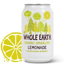 Refresco Limón Bio 33 cl. Whole Earth