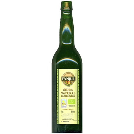 Sidra Natural Bio 75 cl. Fanjul