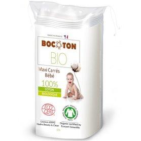 Toallitas algodón Bebe Bio 60 ud. Bocoton