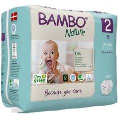 PañalesTalla 2 3-6 kg. 30 ud. Bambo