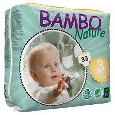 Pañales Talla 3 5-9 kg. 33 ud. Bambo Nature