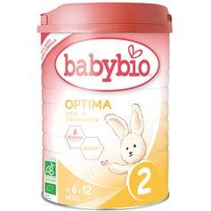 Leche Infantil 2 continuacion Babybio 900 gr.