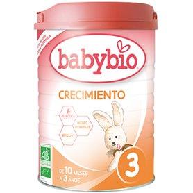 Leche infantil 3 Crecimiento 900 gr. Babybio