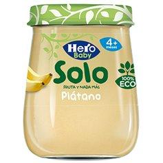 Potito Plátano Bio 120 gr. Hero