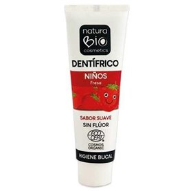 Dentífrico Niños Fresa Bio 50 ml. Naturabio