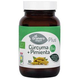 Cúrcuma + Pimienta 60 ud. El Granero