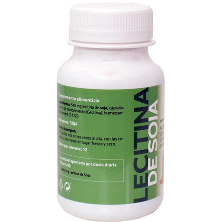 Lecitina Soja 500 mg. 110 ud.