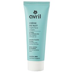 Crema Noche sensible Bio 50 ml. Avril