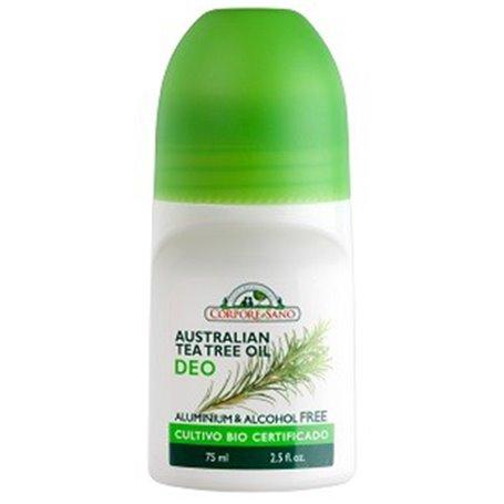 Desodorante Árbol Té 75 ml. Corpore Sano