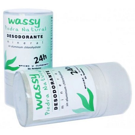Desodorante Alumbre natural 60 gr. Ecowassy