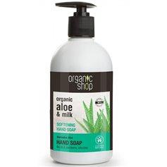 Jabón líquido manos suavizante Aloe Bio 500 ml. Organic shop