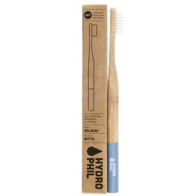 Cepillo dientes Bambú Nylon Azul Claro Medio 1 ud. HydroPhil