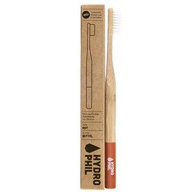 Cepillo dientes Bambú Nylon Rojo 1 ud. HydroPhil