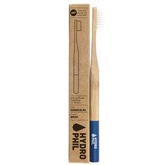Cepillo dientes Bambú Nylon Azul Oscuro Suave 1 ud. HydroPhil