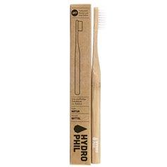 Cepillo dientes Bambú Nylon Natural Medio 1 ud. HydroPhil
