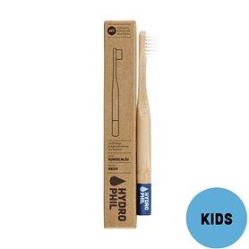 Cepillo dientes Bambú Kids Nylon Azul Suave 1 ud. HydroPhil