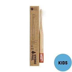 Cepillo dientes Bambú Kids Nylon Rojo Suave 1 ud. HydroPhil