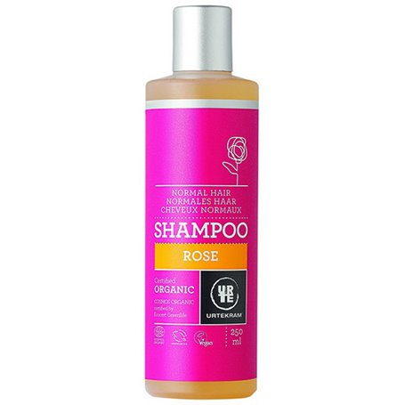 Champú Rosas Bio 250 ml. Urtekram