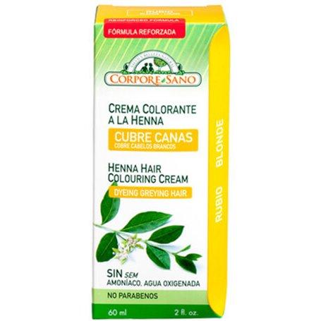 Henna Crema Rubio 60 ml. Corpore
