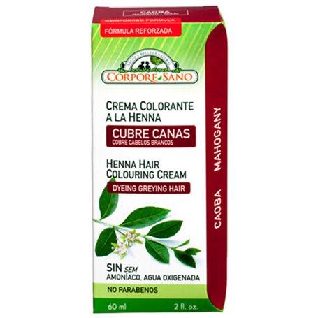 Henna Crema Caoba 60 ml. Corpore