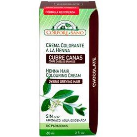 Henna Crema Chocolate 60 ml. Corpore