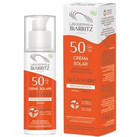 Crema Solar facial F50 bio 50 ml. Alga Maris