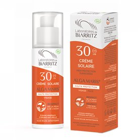 Crema Solar Facial F30 Bio 50 ml. Alga Maris