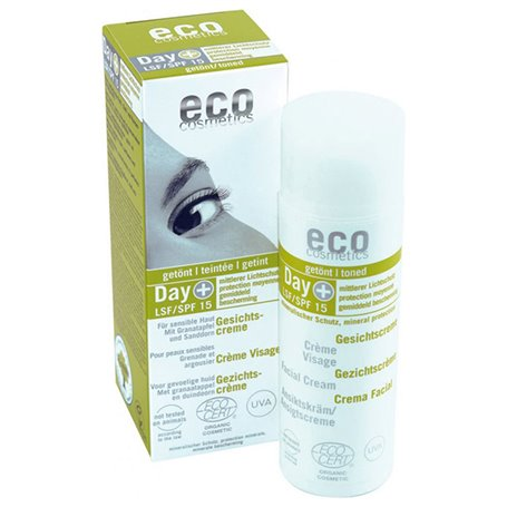 Crema facial color SPF15 Bio 50 ml. Ecocosmetics