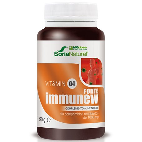 Inmunew forte 1000 mg. 90 ud. Mg Dose Soria Natural
