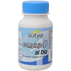 Complejo Vitaminas grupo B 600 mg. 60 ud. Sotya