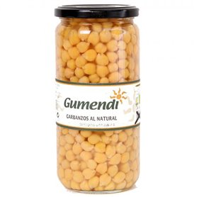 Garbanzos cocidos Bio 660 gr. Gumendi