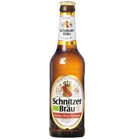 Cerveza Mijo sin gluten Bio 33 cl. Schnitzer