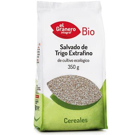 Salvado Trigo extrafino Bio 350 gr. El Granero