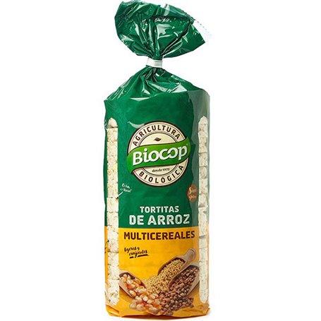 Tortitas Arroz Multicereales Bio 200 gr. Biocop