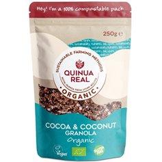 Granola Quinoa Cacao Coco Bio 250 gr. Quinoa Real