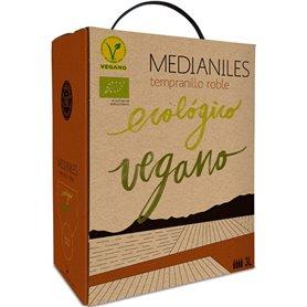 Bag In Box Tempranillo Roble Bio 3 l. Medianiles