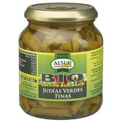 Judías Verdes Finas Bio 340 gr. Alsur