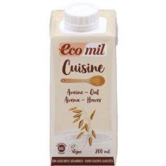 Crema Avena cuisine Bio 200 ml. Ecomil