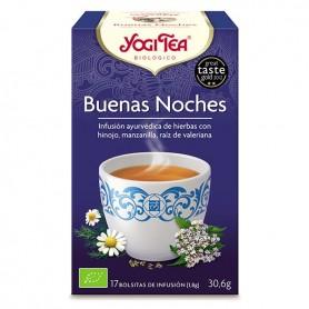 Yogi Tea Buenas Noches Bolsitas 17 ud.