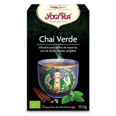 Yogi tea Chai Verde Bio bolsitas 17 ud. Yogi Tea