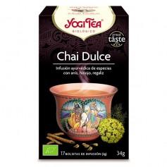 Yogi Tea Chai Dulce Bio bolsitas 17 ud. Yogi Tea