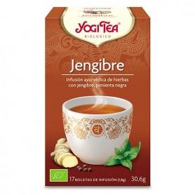 Yogi Tea Jengibre bolsitas 17 ud.