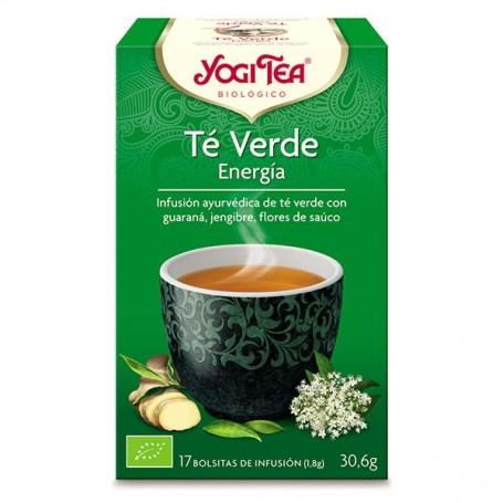 Yogi Tea Té Verde Energía bolsitas 17 ud. Yogi tea